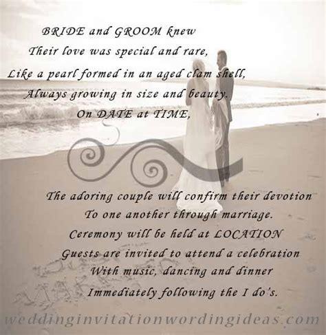 Beach Wedding Invitation Wording ? How To Write