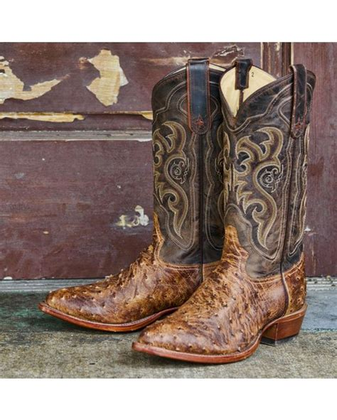 Kickers Boots Limited Edition 611 Brown tony lama s chocolate vintage quill ostrich boot