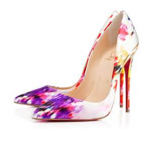 Christian louboutin so kate in multicolor red lyst
