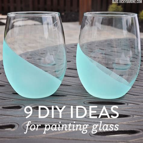 How To Paint Inside Glass Vases by 9 Diy Ideas For Painting Glass Barone