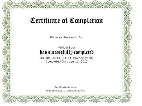 doc sle training certificate hipaa sle hipaa