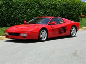 1992 512tr 512 tr rosso corsa 37k in service at