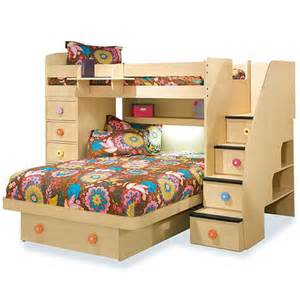 berg furniture loft bed with chest