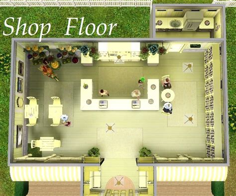 mod the sims vetinari s bistro grocery nectar shop