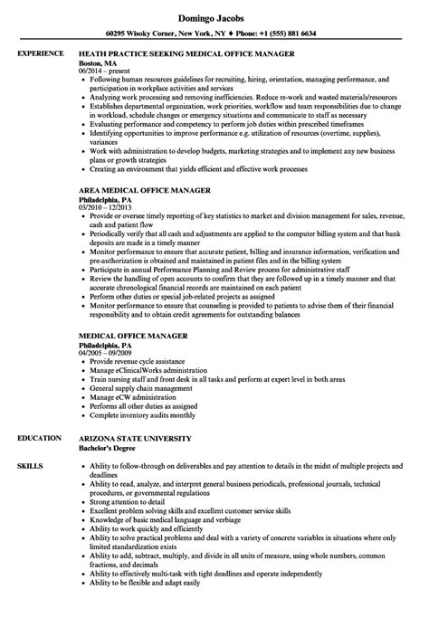 office assistant job description resume administrative assistant