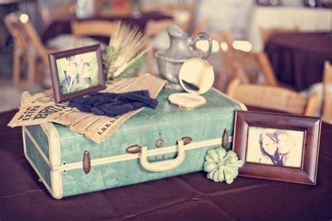 vintage travel decor vintage wedding vintage wedding decor 797396 weddbook