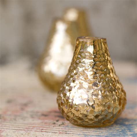 bibi miniature vase antique gold at the present