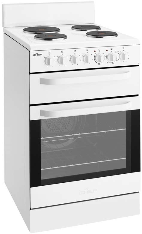 chef cooktop chef cfe535wa freestanding electric oven stove reviews