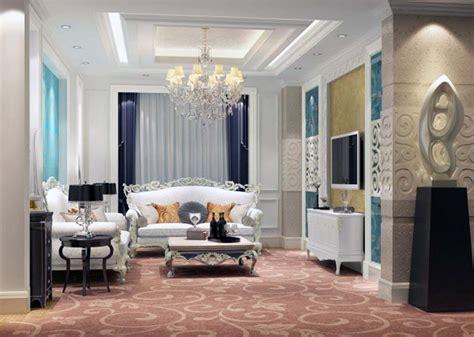 desain ruang tamu  mewah ndik home