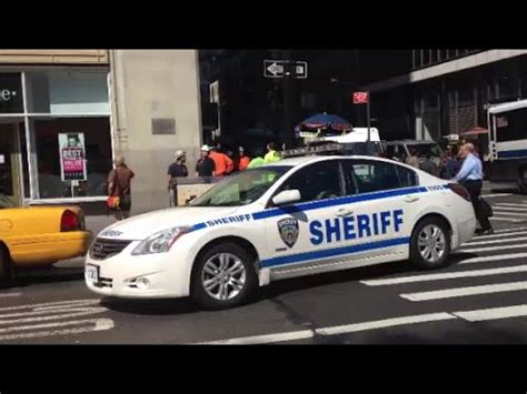 New York City Sheriff S Office by New York City Sheriff S Patrol Car Driving Around In
