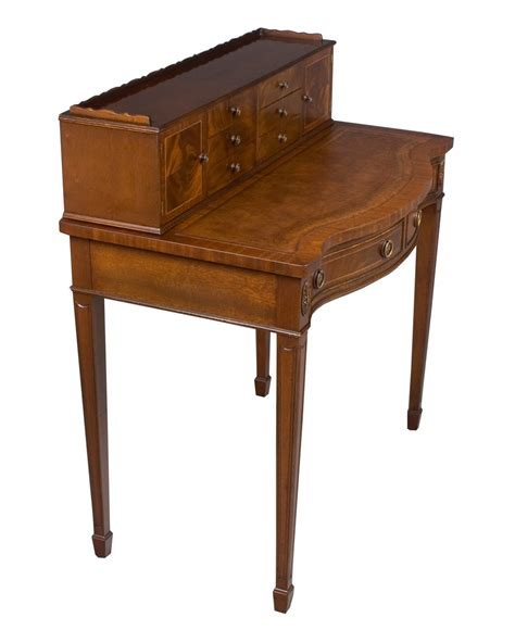 antique style writing desk antique style mahogany writing desk