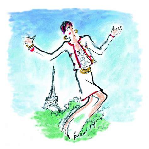 Karl Lagerfeld Original seen by karl lagerfeld original drawing by karl lagerfeld