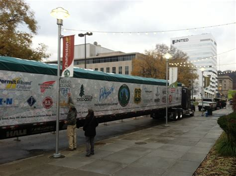 west virginia christmas tree farmscharleston wv wv metronews u s capitol tree makes charleston stop