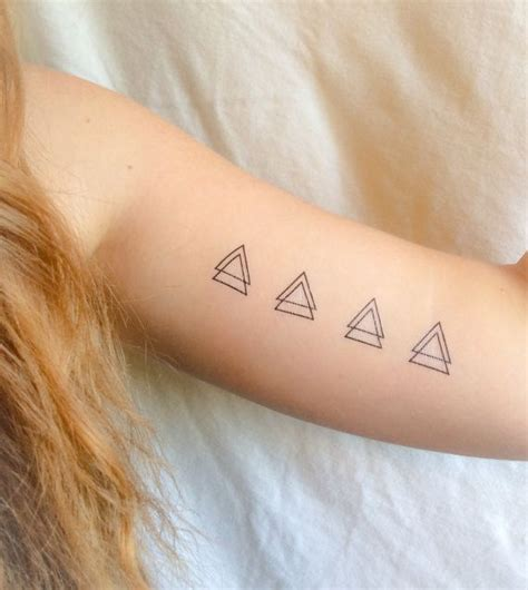 double triangle tattoo meaning best 25 triangle meanings ideas on