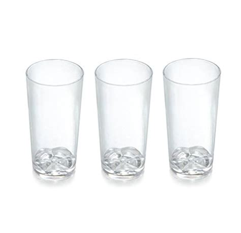 zappy  disposable plastic straight wall shooter glasses