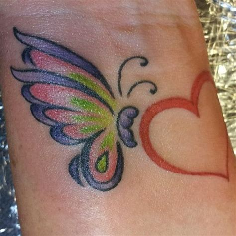 heart and butterfly tattoos designs butterfly and tattoos