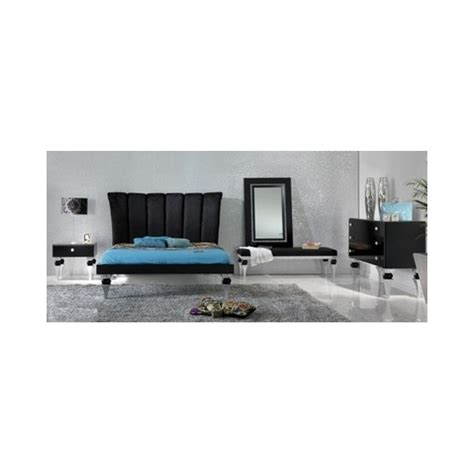 black and silver bedroom set magnus black and silver leaf bedroom set collection