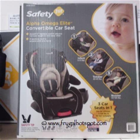 alpha omega elite car seat costco costco deal safety 1st alpha omega elite convertible car