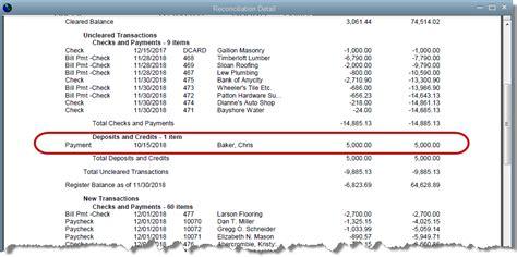 quickbooks tutorial on reconciliation correcting deposit errors quickbooks training