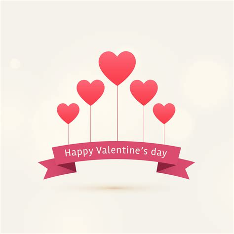 hearts s day happy s day background with flying hearts