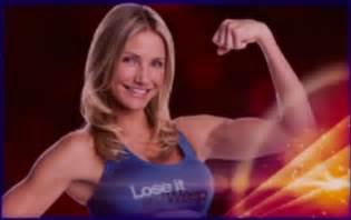 jennifer sofa bed cameron diaz biceps flex image mag
