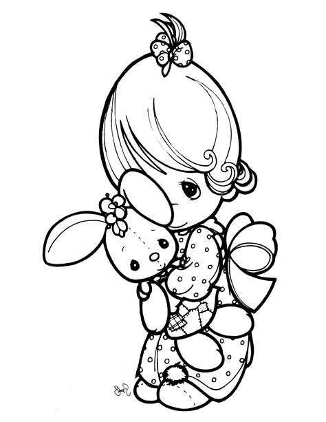 coloring pages of precious moments animals precious moments animal coloring pages printable kids