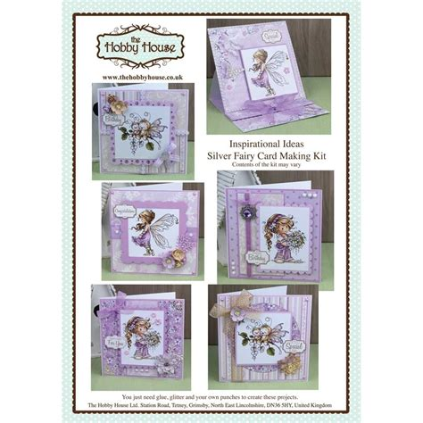 card kits uk the hobby house wee silver cardmaking kit uk