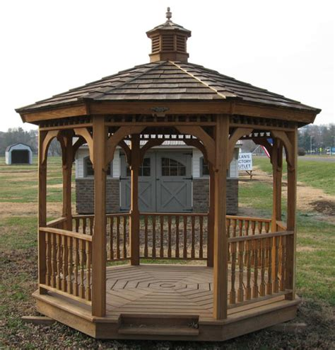 wood gazebo kits gazebo roof types gazebo