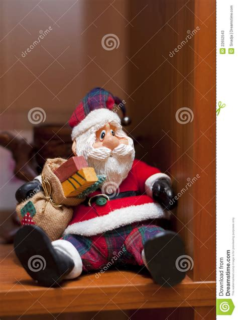 Santa Claus On The Shelf by Santa Claus On The Shelf Stock Photos Image 22652543