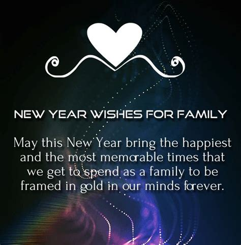new year wishes 2017 for family happy holidays