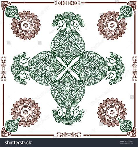 invitation rangoli design hand drawn henna rangoli design for invitation layout or