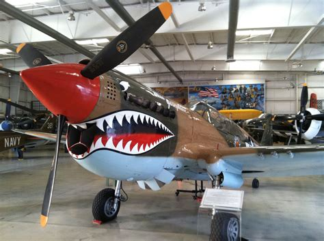 Aircraft Galley | Palm Springs Air Museum P 40 Warhawk