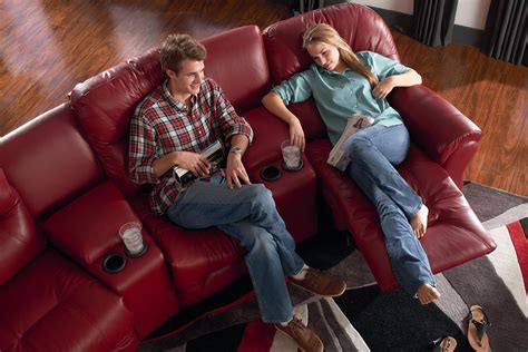 Kursi Sofa Virginia Al Custome 4 seater power reclining home theater by best home