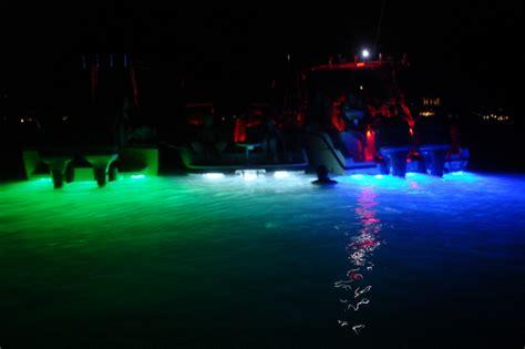 green glow dock light boat light dg s dock lighting