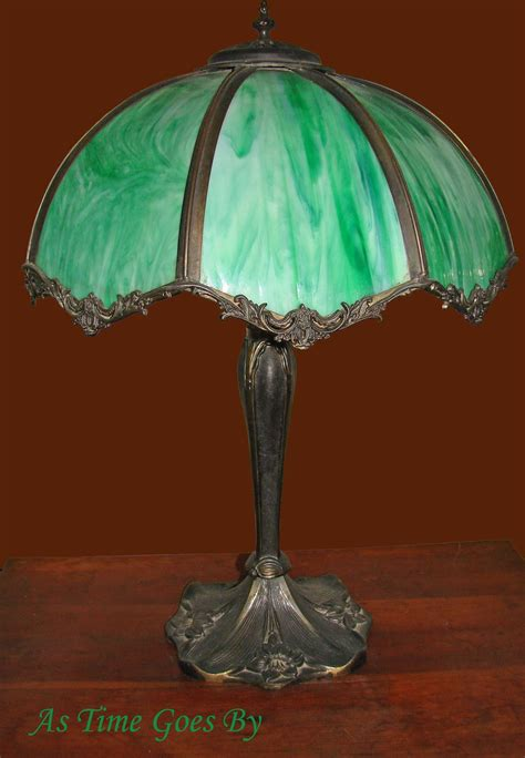 vintage green glass l early 20th century vintage green glass l from