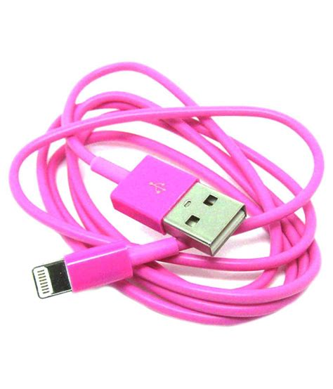 Miniso Japan Miniso 2 In 1 Usb Cable Kabel Data Handphone For Iphone miniso usb cable for apple iphone 6 pink all cables