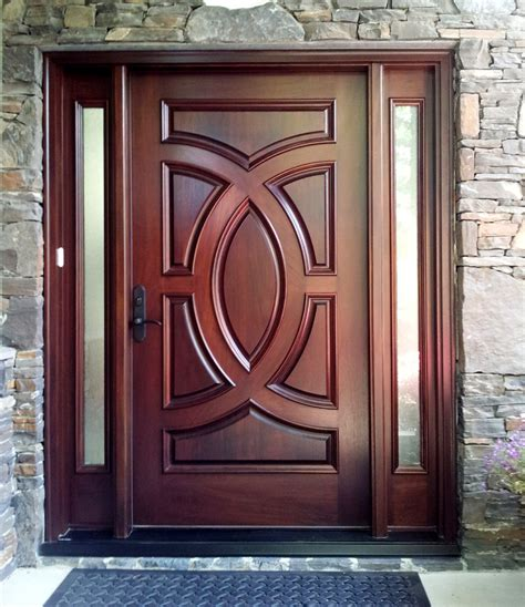 Custom Wood Front Door Exterior Door Gallery Wooden Door Pictures