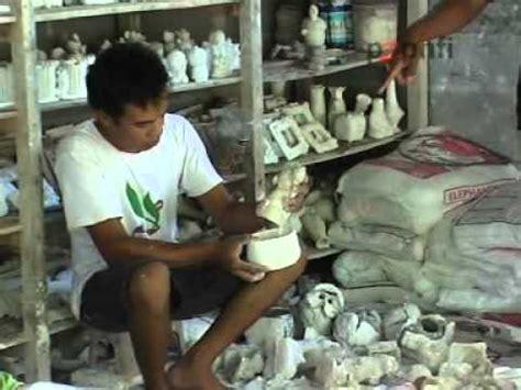 membuat kerajinan gypsum souvenir boneka gypsum bagian 1 viyoutube