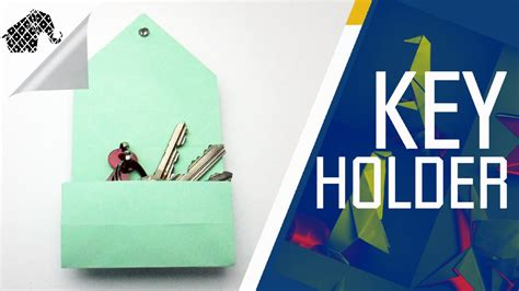 How To Make A Holder Out Of Paper - origami how to make an origami key holder box