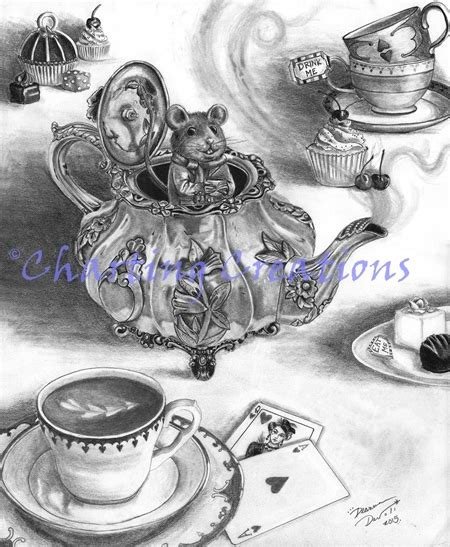 In Dormouse Drawing by Dormouse Dormouse Davoli004 16 00 Usd Charting