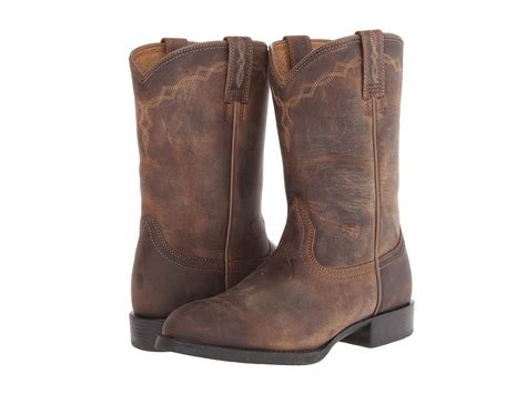 ariat heritage boots ariat womens heritage roper boot sports