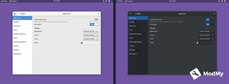gnome wm themes customize your linux desktop with gnome tweaks modmy