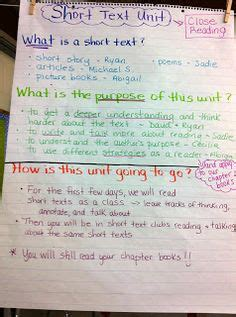 Literary Essay Calkins by Strategies For Writing About Reading Chart Writer S Workshop Calkins Literary Essays Unit