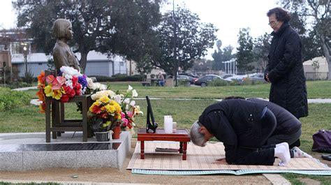 comfort women memorial a diplomatic call for comfort women tribunedigital