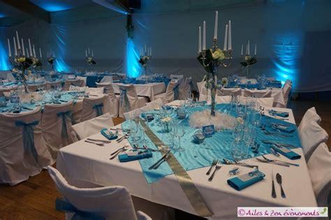 Decoration De Table Bleu Turquoise by Decoration Table Mariage Turquoise Et Blanc Ok42 Jornalagora
