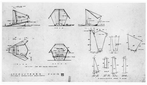 Origami Plans - frank lloyd wright origami chair plans diywoodplans