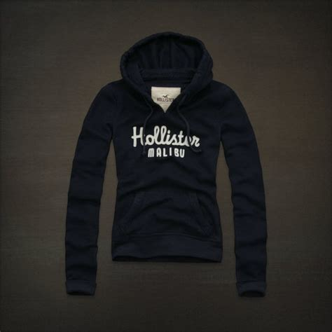 Hoodie Hollister1 nwt hollister womens hoodie boomer daley ranch navy size m by af