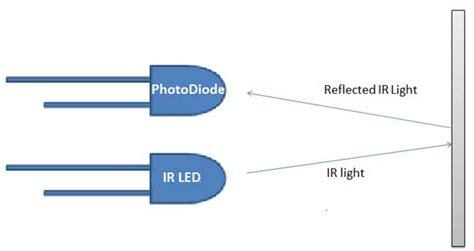 photodiode pair diy ir sensor module circuit diagram