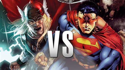 Movie Thor Vs Superman | superman vs thor epic battle youtube