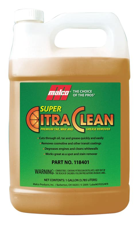 Scrub Citra citra clean tar wax and grease remover
